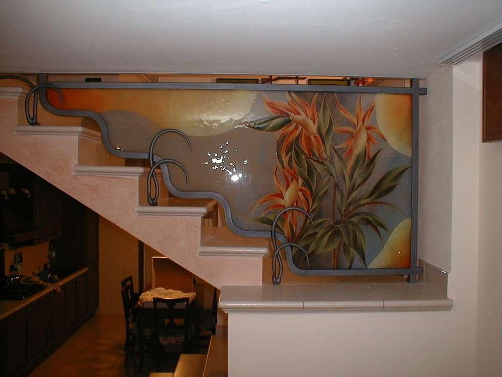 Idee arredamento casa interior design homify for Chiusura vano scala interno