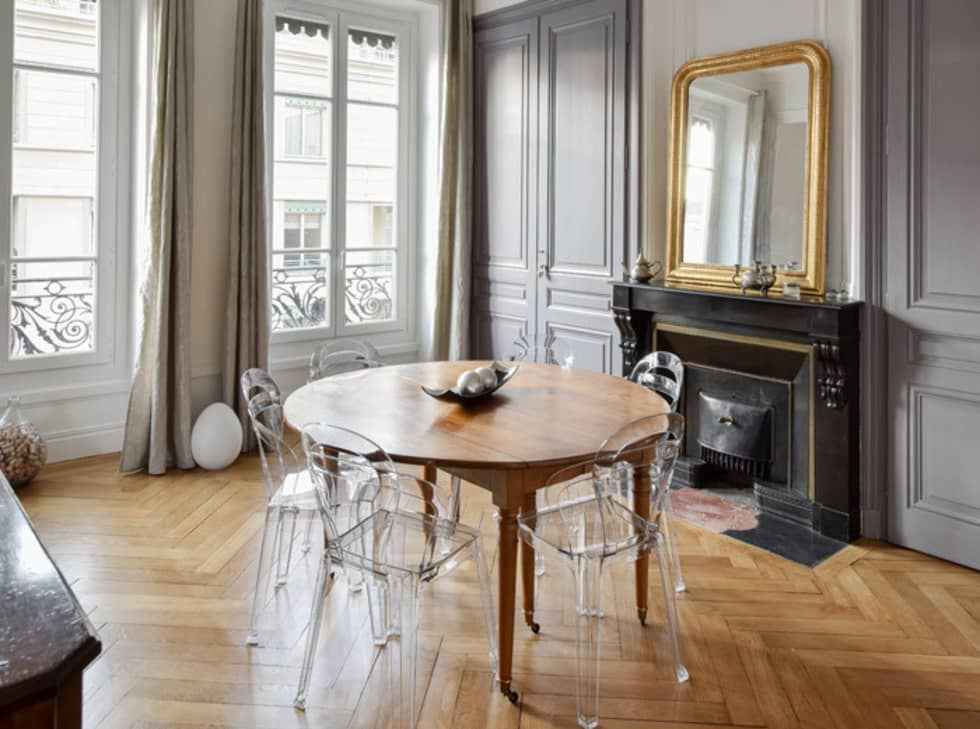 Id es de design d 39 int rieur et photos de r novation homify for Decoration appartement haussmannien