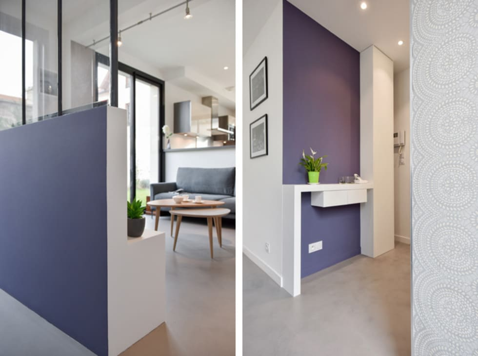 Id es de design d 39 int rieur et photos de r novation homify - Amenagement couloir entree ...