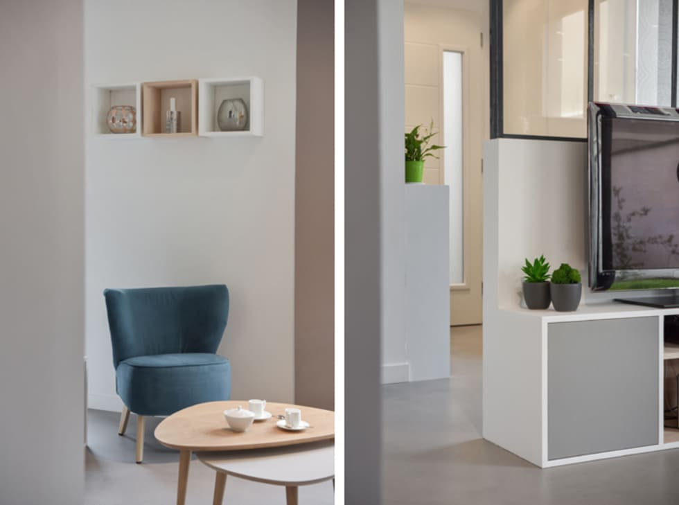 Id es de design d 39 int rieur et photos de r novation homify for Amenagement spa interieur