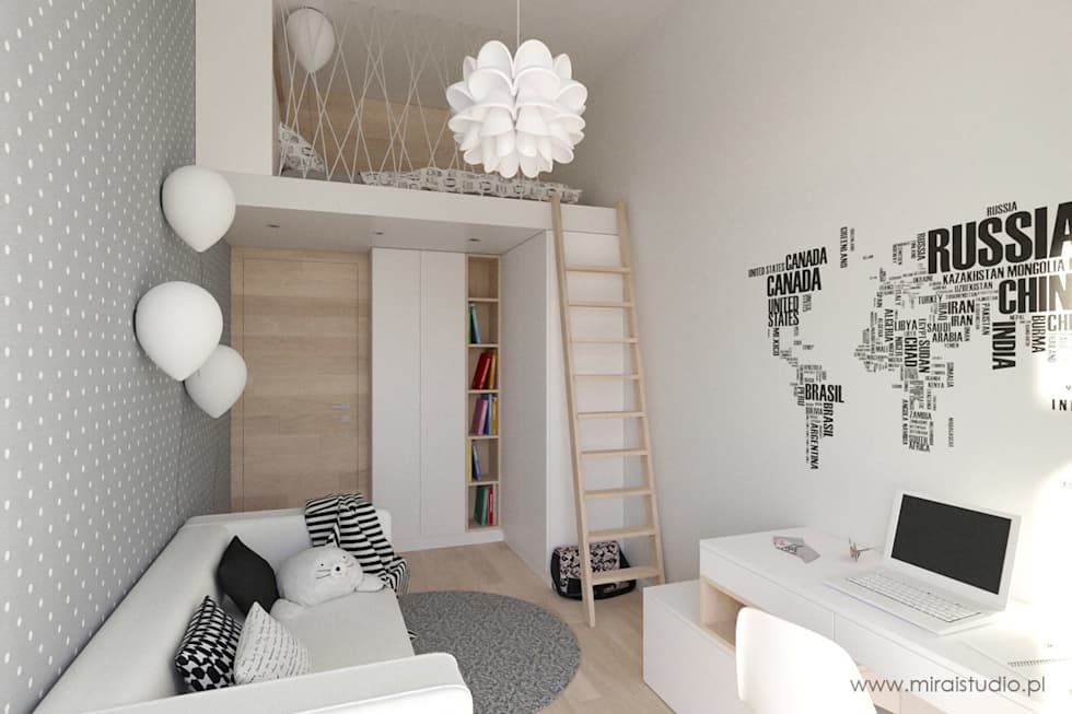 scandinavische Kinderkamer door MIRAI STUDIO