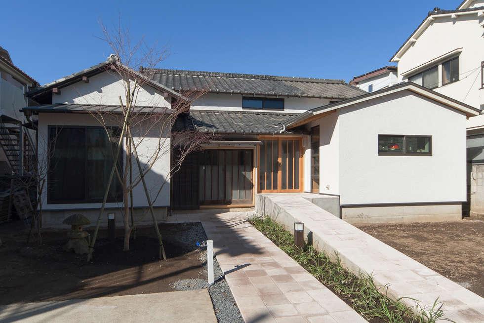 外観: 結人建築設計事務所が手掛けた家です。