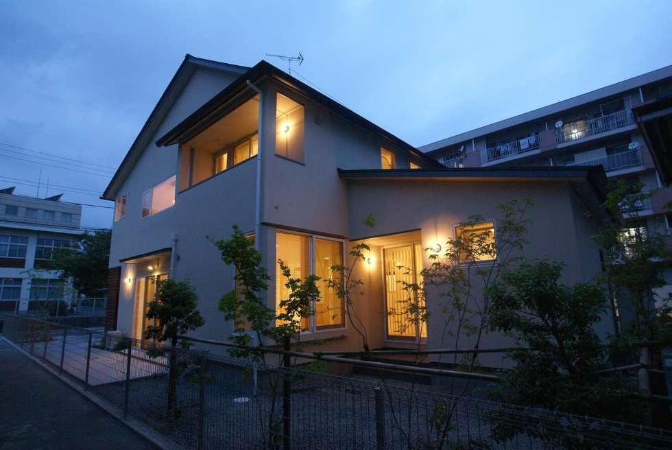 外観: 伊達剛建築設計事務所が手掛けた家です。