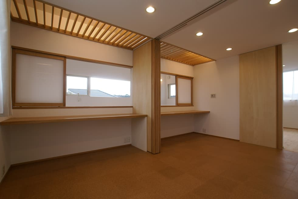 子供室: 伊達剛建築設計事務所が手掛けた子供部屋です。