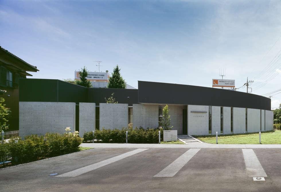 外観:全景: プライム建築都市研究所が手掛けた医療機関です。