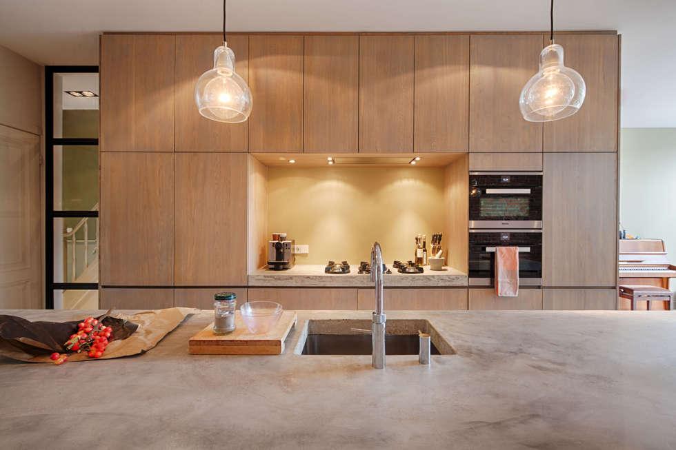 Foto's van een moderne keuken: losse pitten van pitt cooking op ...