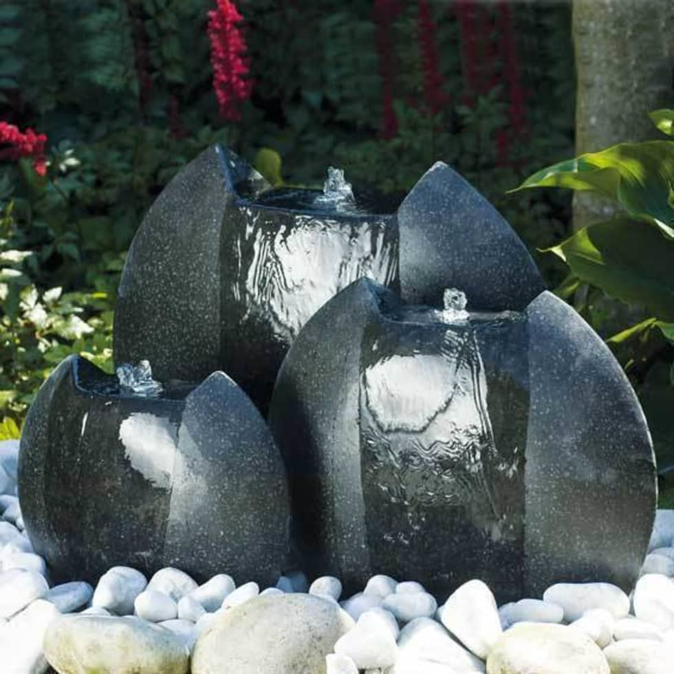 Id es de design d 39 int rieur et photos de r novation homify for Fontaine asiatique jardin