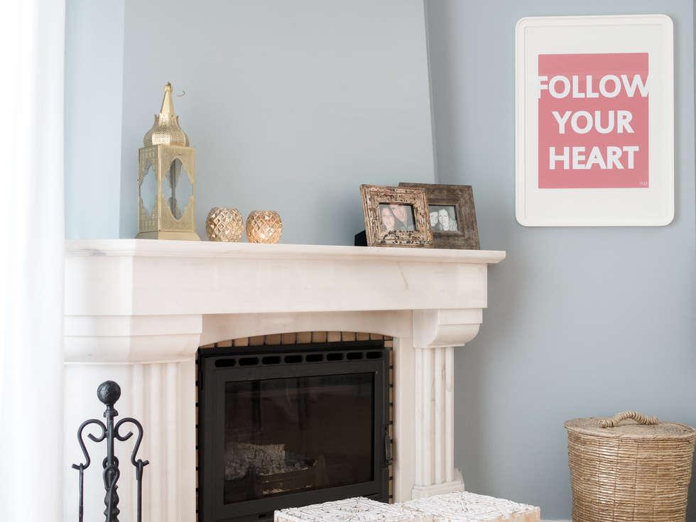 Sala De Estar Sintra ~ Fotos de salas de estar modernas apartamento em sintra  homify