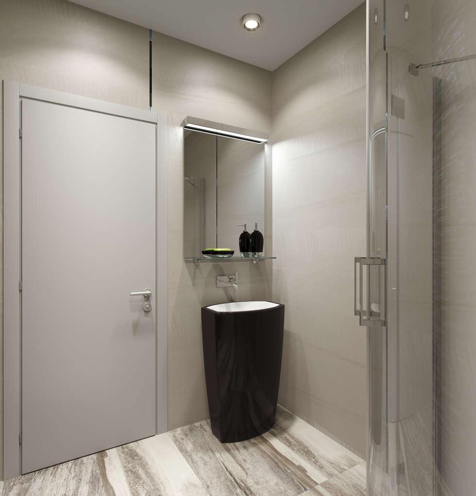 нормальная квартира: Ванные комнаты в . Автор – Хандсвел