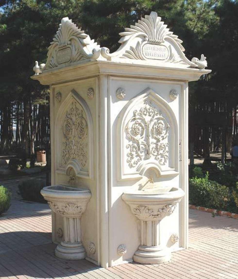 Park Bahçe Heykelleri – Beton  Çeşme Modellerimiz: modern tarz Bahçe
