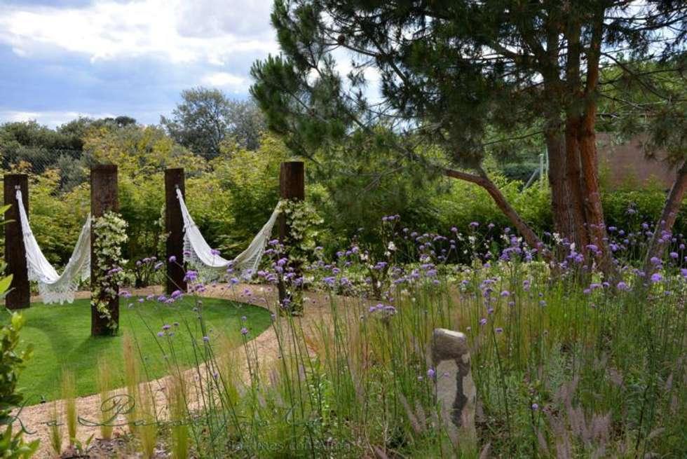 jardin del estanque jardines de estilo mediterrneo de la paisajista jardines con alma