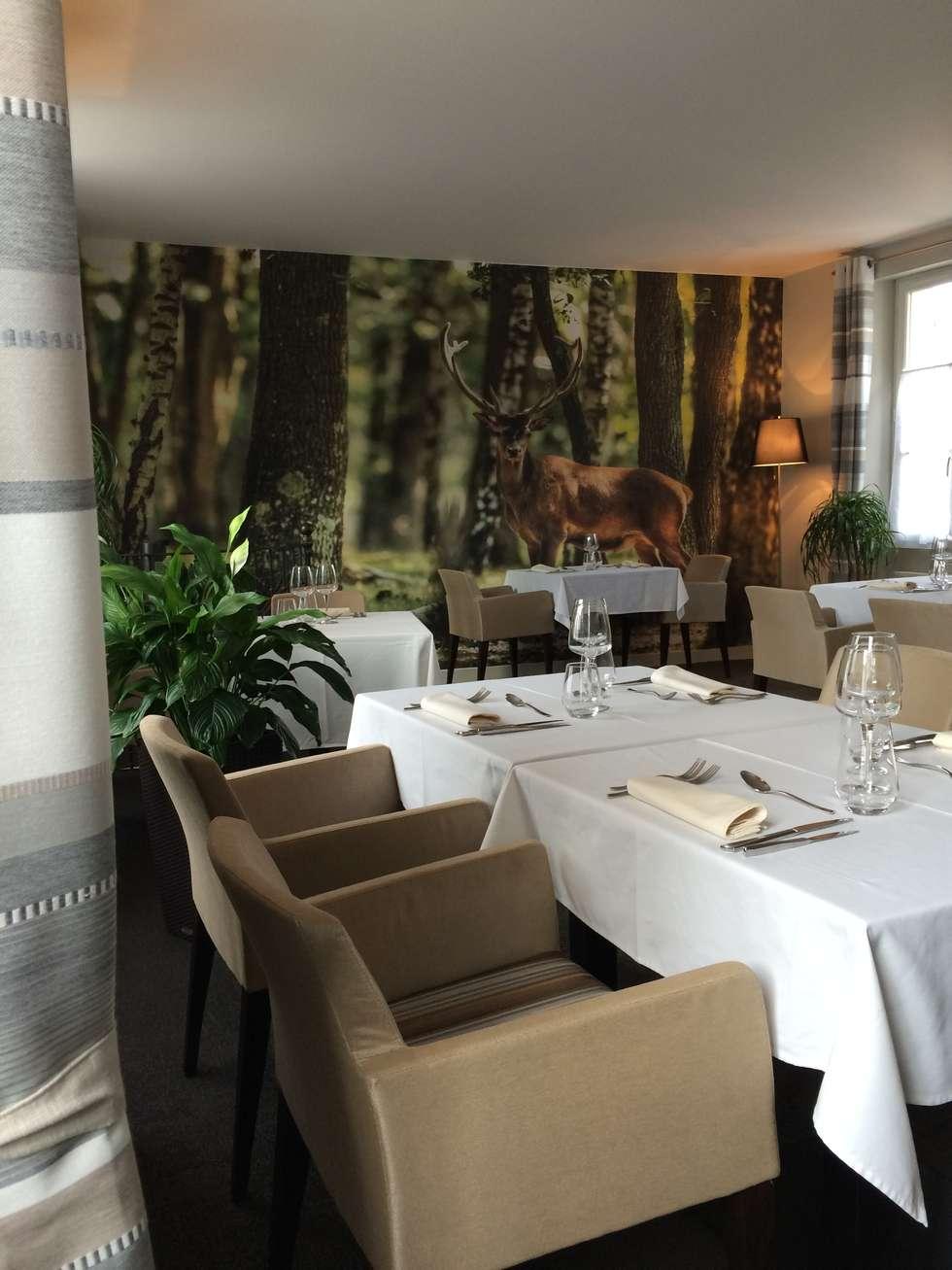 Décoration d'une Auberge Gastronomique: Restaurants de style  par At Ome