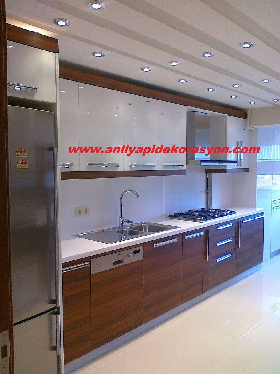 anlı yapı dekorasyon – anlı yapı dekorasyon: modern tarz Mutfak