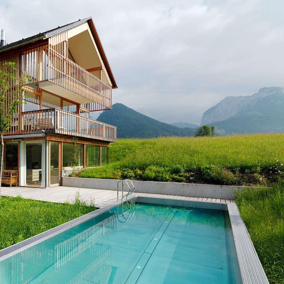 Wohnideen interior design einrichtungsideen bilder for Haus bad aussee