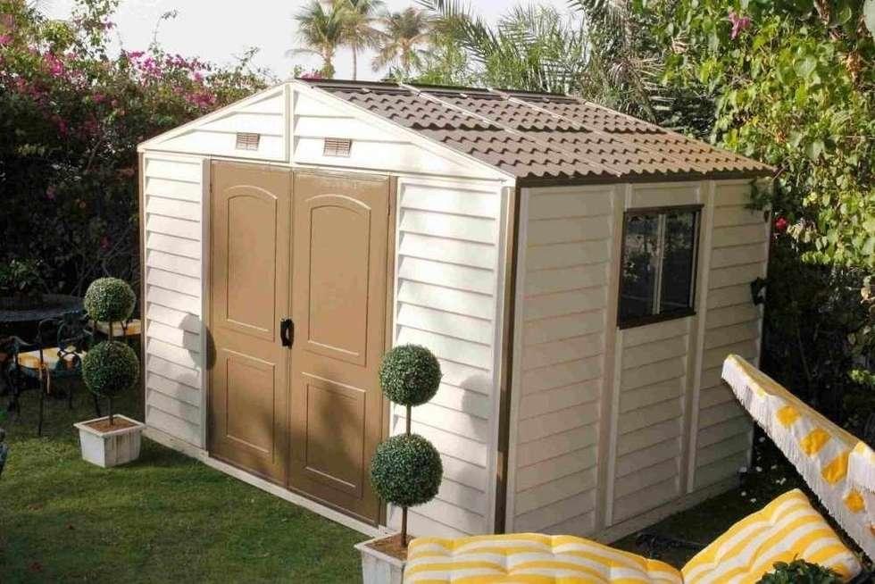 Cobertizos para jardin dise os arquitect nicos for Cobertizos y casetas
