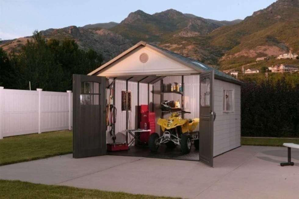 Casetas y cobertizos para jardin y terraza casetas de for Cobertizos para jardin