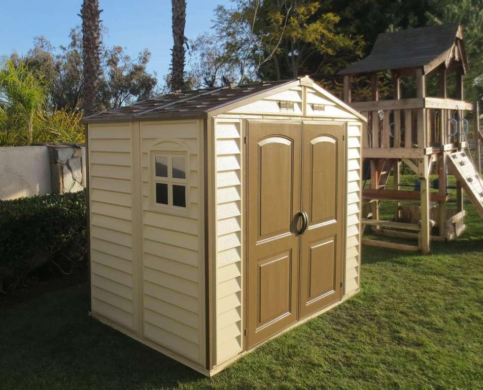 Casetas para jardin casetas arcones armarios para for Casetas para terrazas