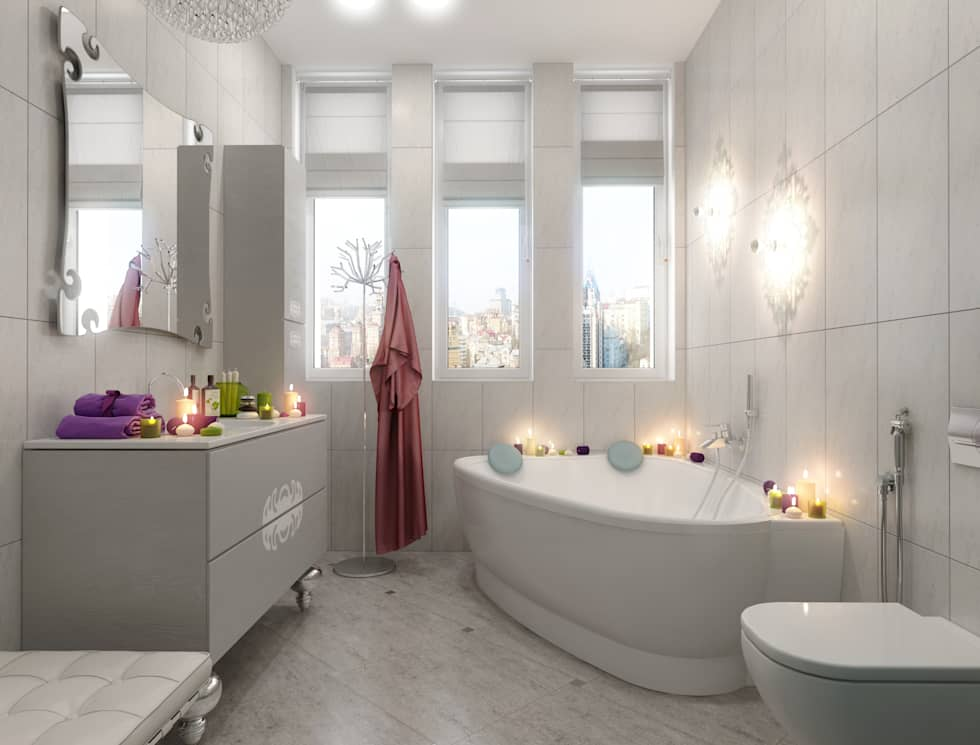 LIgne roset: Ванные комнаты в . Автор – pashchak design