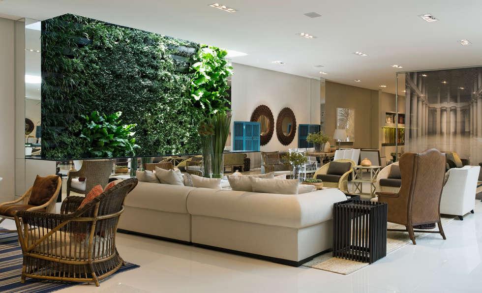 Artefacto Jardim Anália Franco 01: Lojas e imóveis comerciais  por GreenWall Ceramic