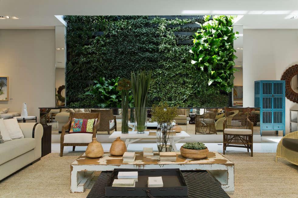 Artefacto Jardim Anália Franco 03: Lojas e imóveis comerciais  por GreenWall Ceramic