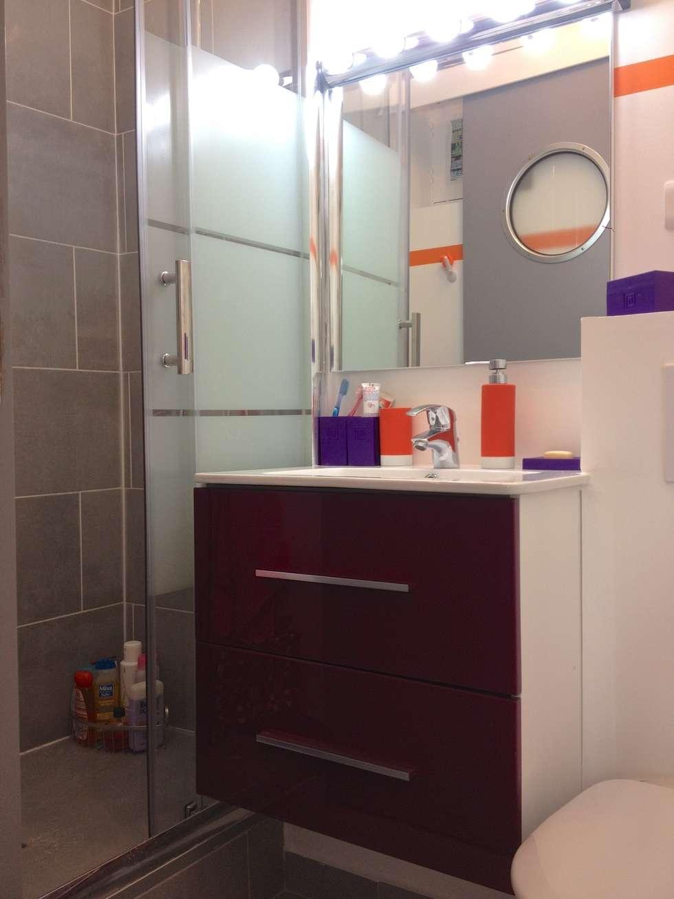 Salle de bain enfant: Salle de bains de style  par Decorexpat