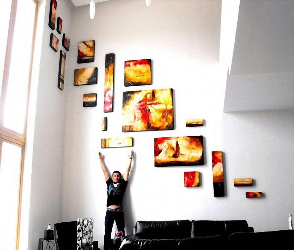Arte artes cristiano pintura pinturas escaleras paredes for Diseno de habitacion de estilo contemporaneo