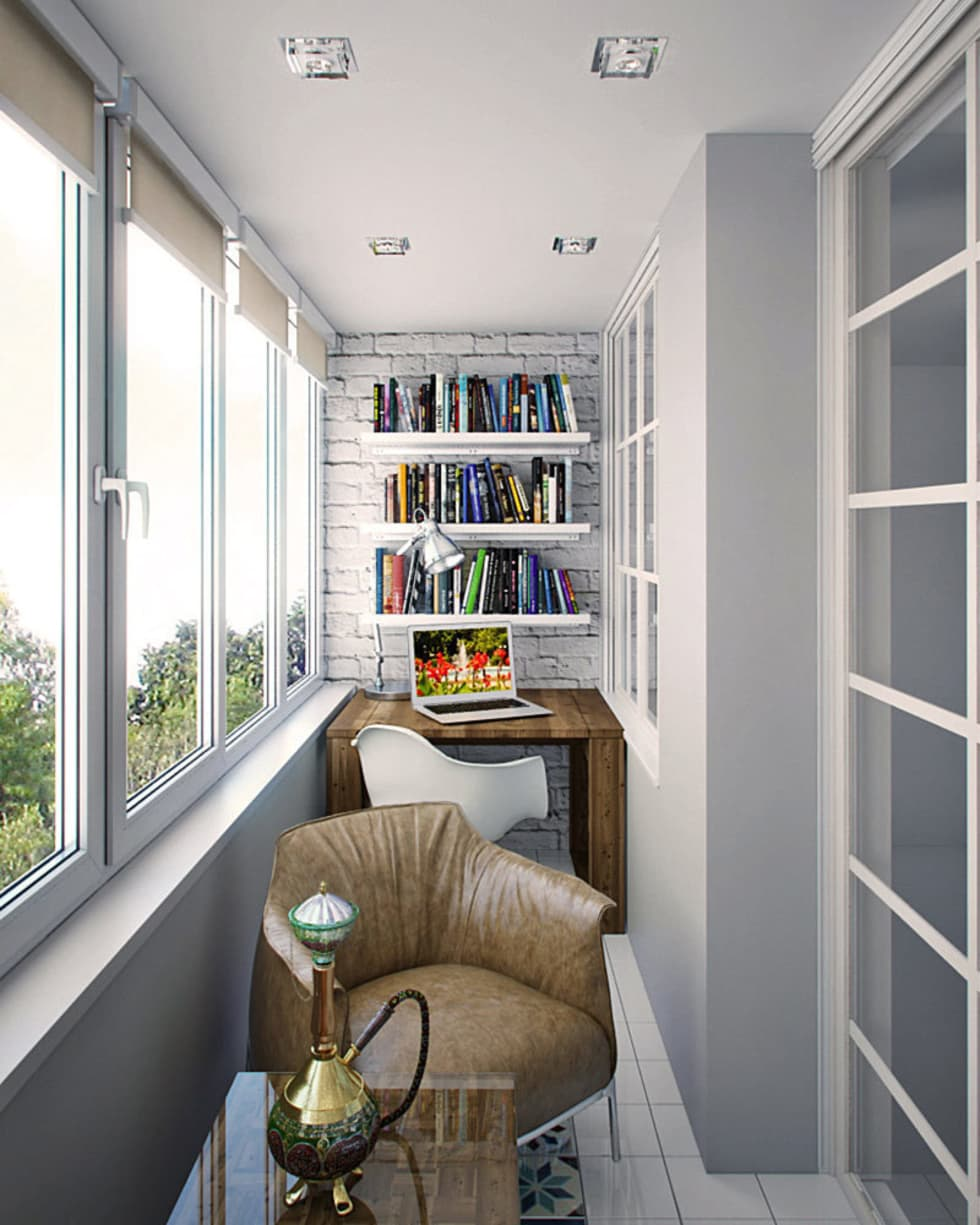 Балконы, веранды и террасы photos: балкон homify.