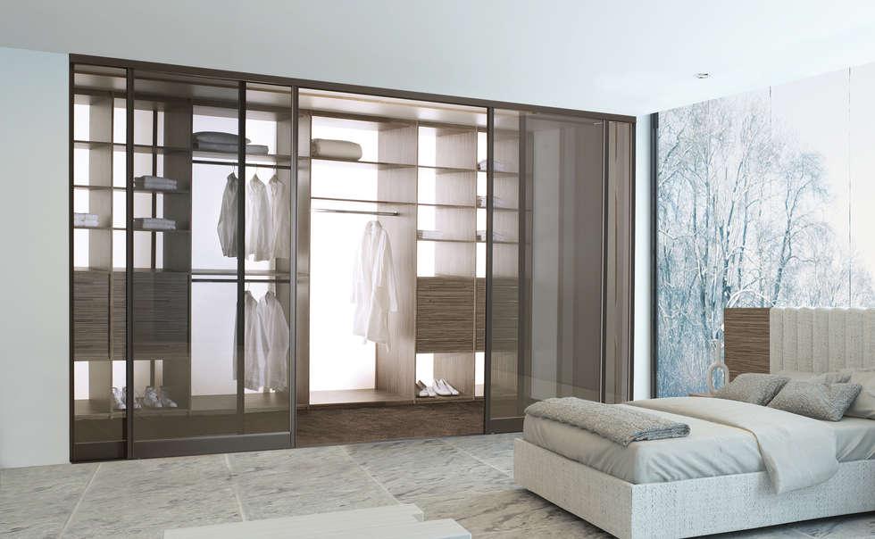 Tout en transparence…: Dressing de style de style Moderne par PANAGET