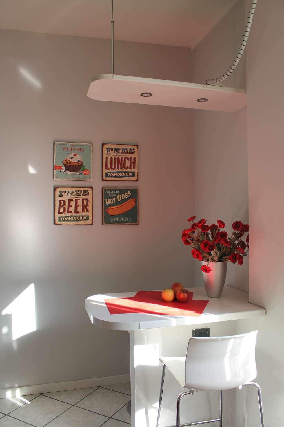 cucina: Cucina in stile in stile Moderno di stagemyhome