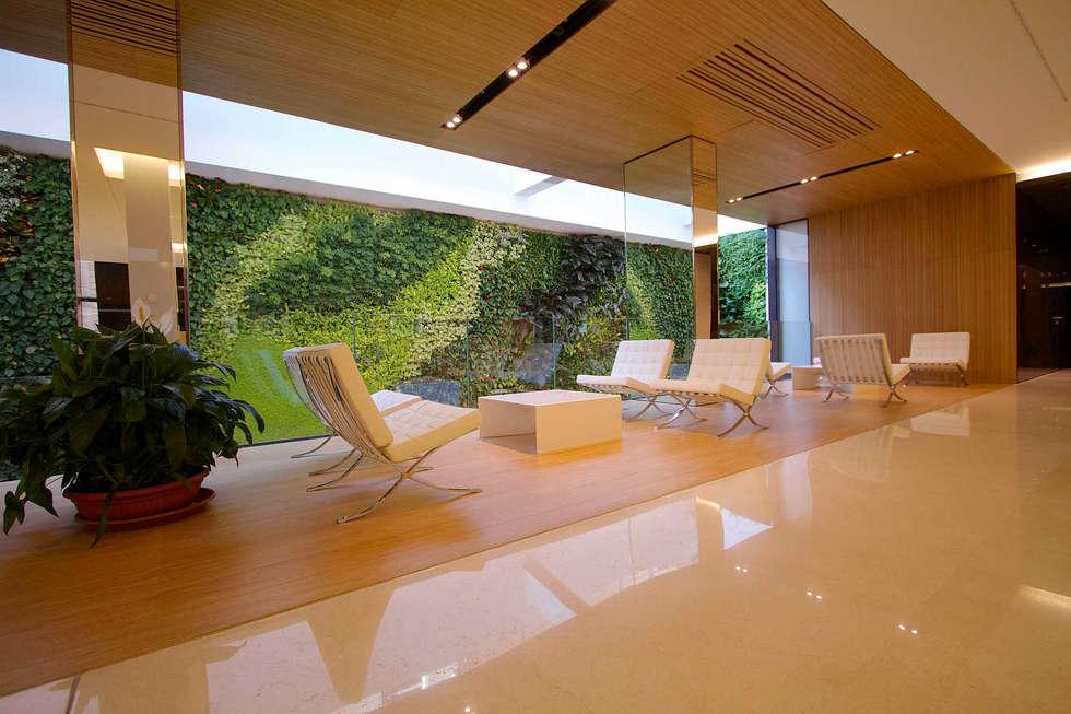 Sundar Italia _ giardino verticale : Complessi per uffici in stile  di Sundar Italia