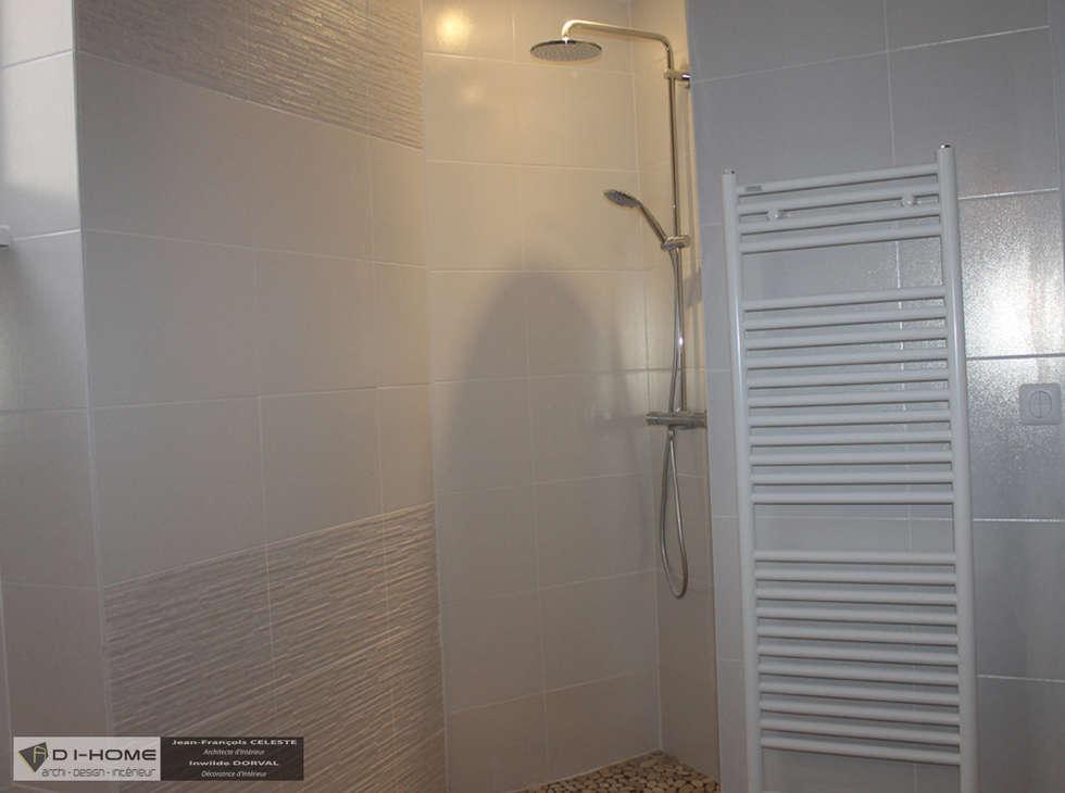 salle de bain: Salle de bains de style  par Agence ADI-HOME