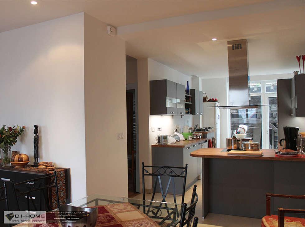 salle à manger: Salle à manger de style de style Tropical par Agence ADI-HOME