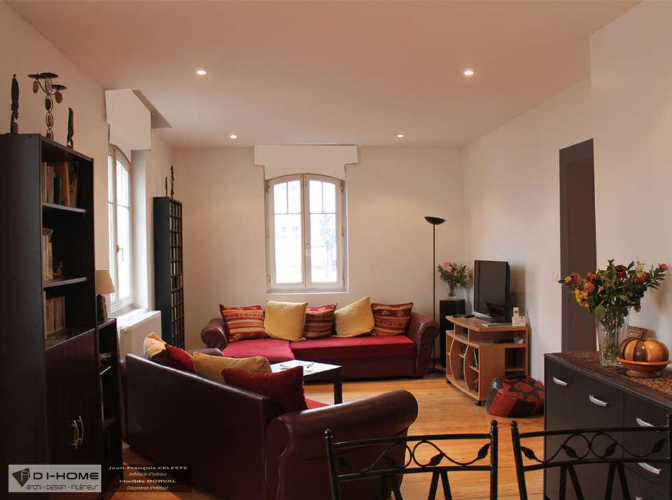 salon: Salon de style de style Tropical par Agence ADI-HOME
