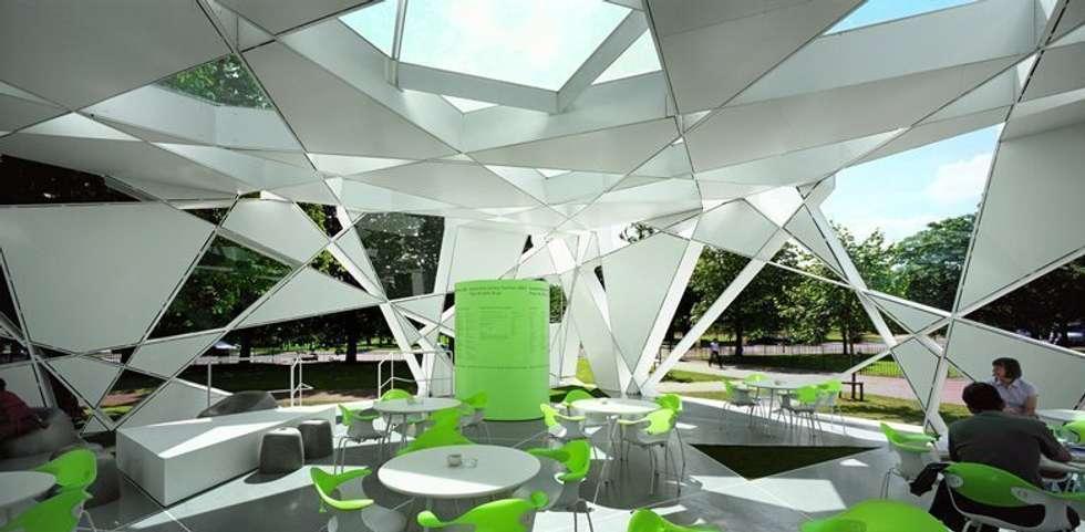 Serpentine Gallery Pavilion: Giardino d'inverno in stile in stile Moderno di antonio giordano architetto