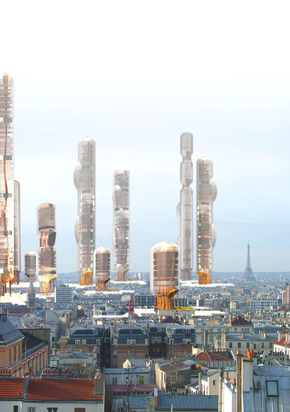Nouvelle urbanité  verticale  : Lieux d'événements de style  par XLGD architectures