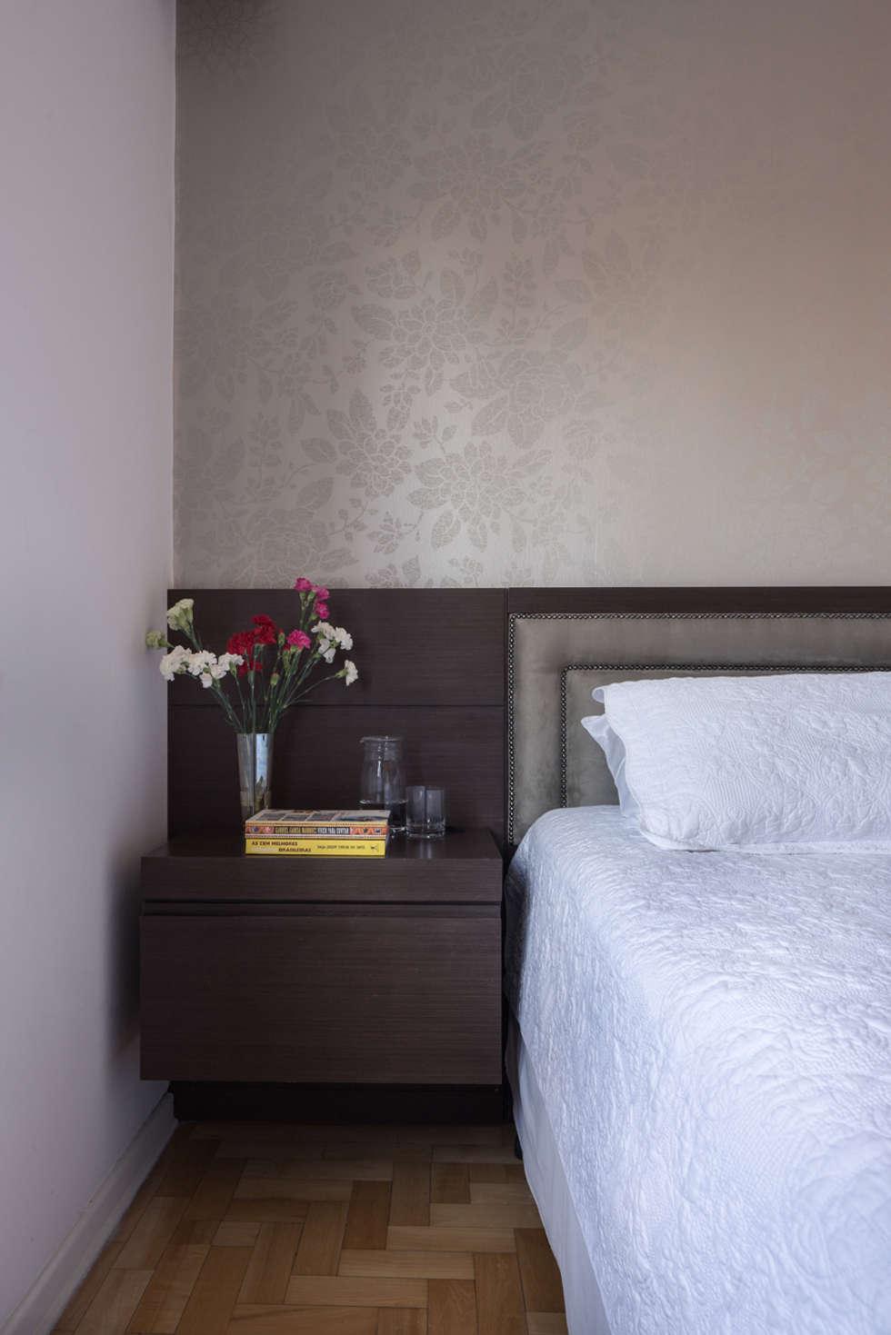 Dormitório: Quartos  por Blacher Arquitetura