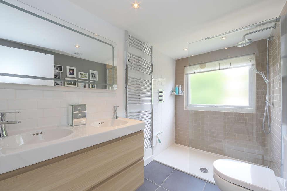 Interior design ideas redecorating remodeling photos for Bathroom dormer design