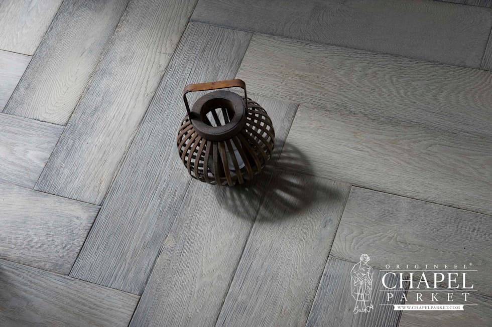 Fotos van een landelijke woonkamer: stoere eiken visgraat vloer ...