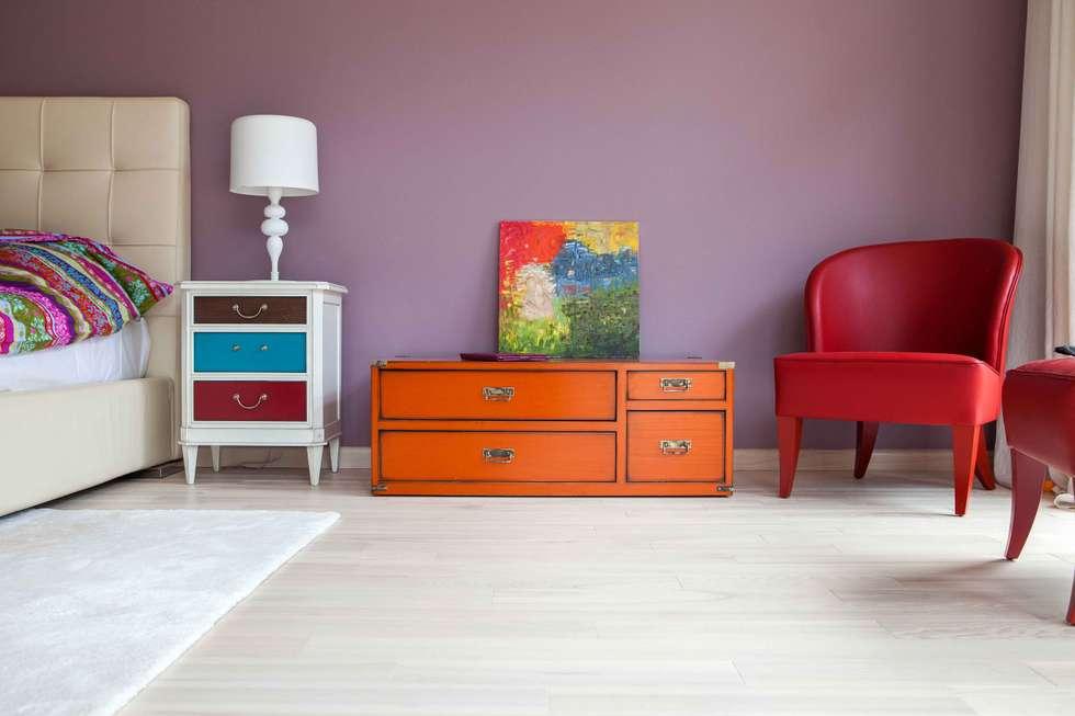 Chambre de style de style eclectique par MARTINarchitects