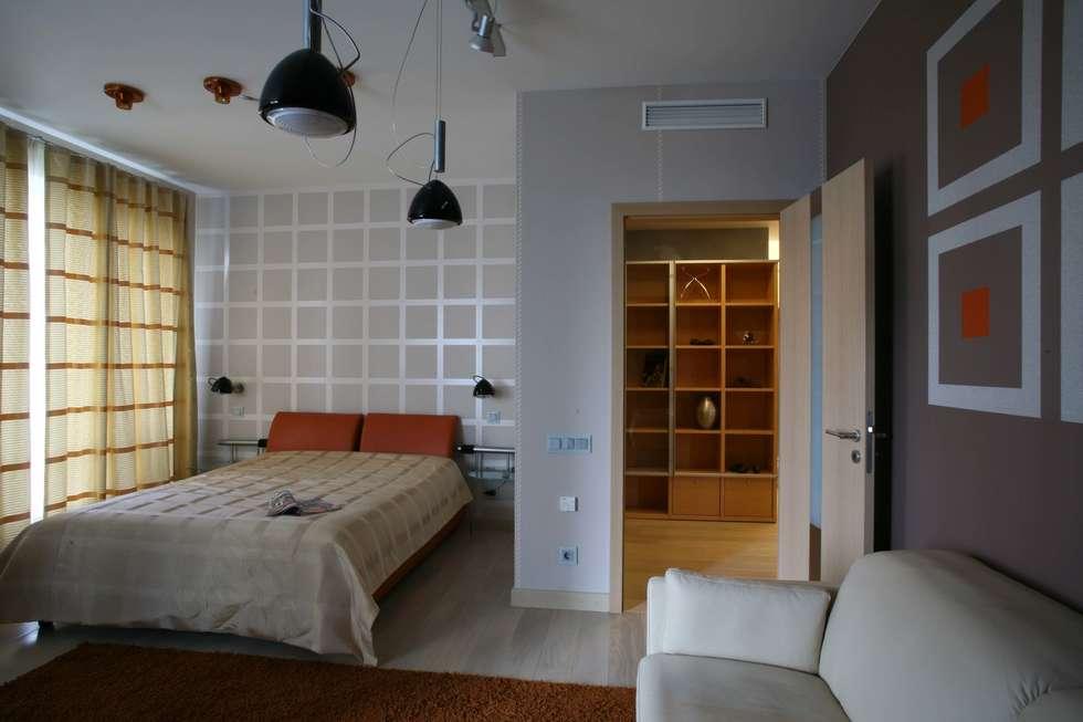 Спальня младшего сына: Спальни в . Автор – Архитектурное бюро Лены Гординой