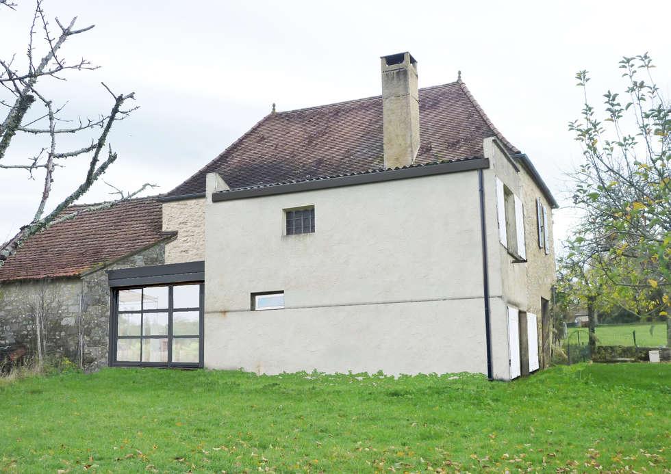 Insertion: Maisons de style de stile Rural par MAURO LOMBARDO ARCHITECTE
