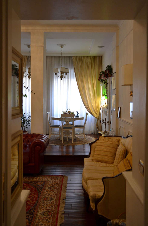 soggiorno/pranzo: Soggiorno in stile in stile Eclettico di arch. Paolo Pambianchi
