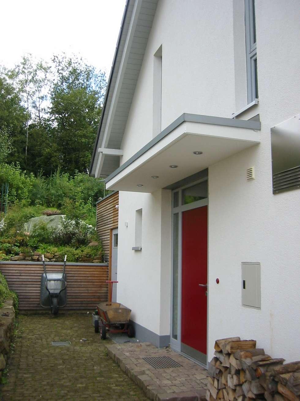 Einzigartig Moderne Hauseingänge Foto Von Eingang: Häuser Von ArchitekturbÜro Seipel