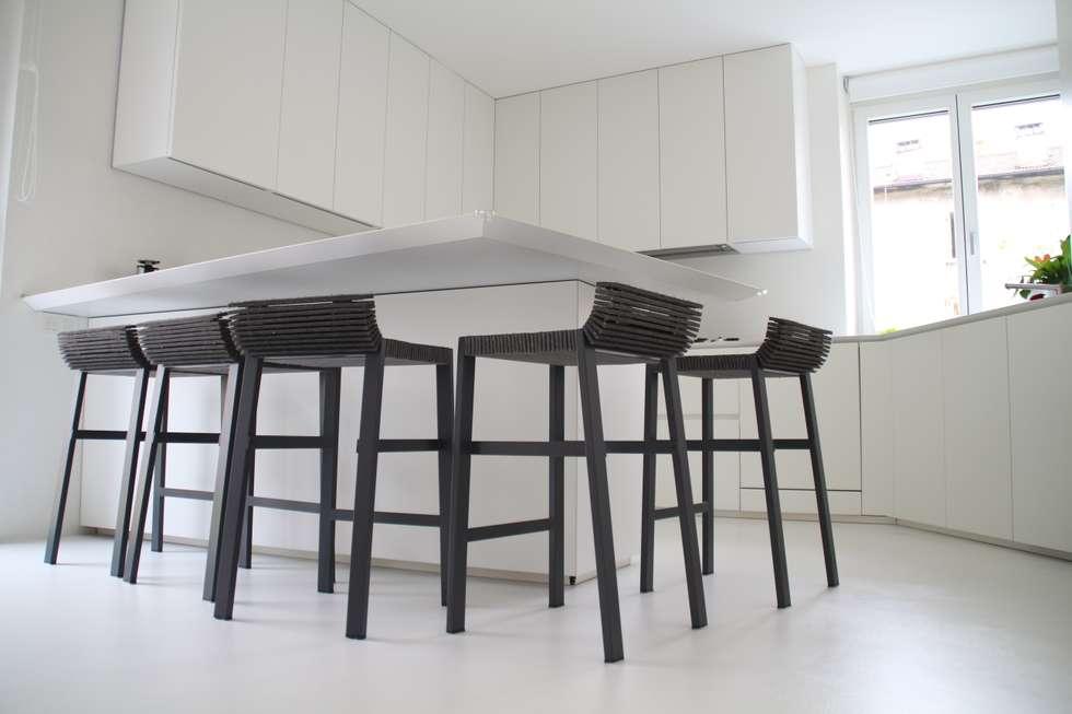 punti di vista: Cucina in stile in stile Minimalista di Serenella Pari design