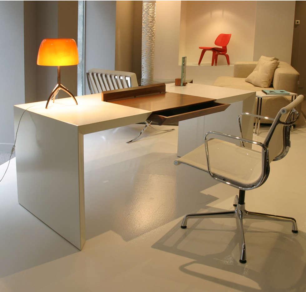 Fotos de decoraci n y dise o de interiores homify - Mesas despacho diseno ...