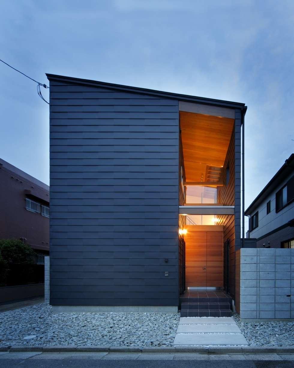 外観: 有限会社ミサオケンチクラボが手掛けた家です。