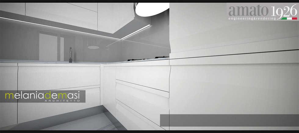 Mondo K: Cucina in stile in stile Moderno di melania de masi architetto