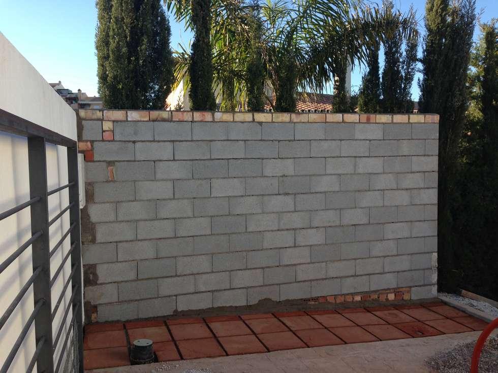 Fotos de decoraci n y dise o de interiores homify - Muro de bloques ...