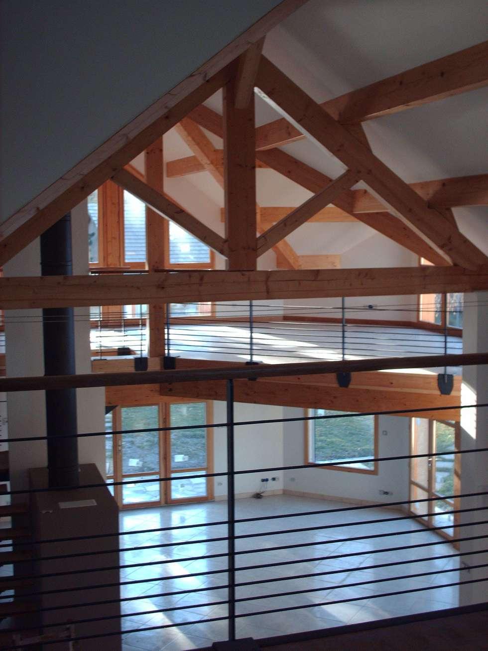 SCI Jaumare: Salle à manger de style de style eclectique par SAS d'architecture lionel Bouchié