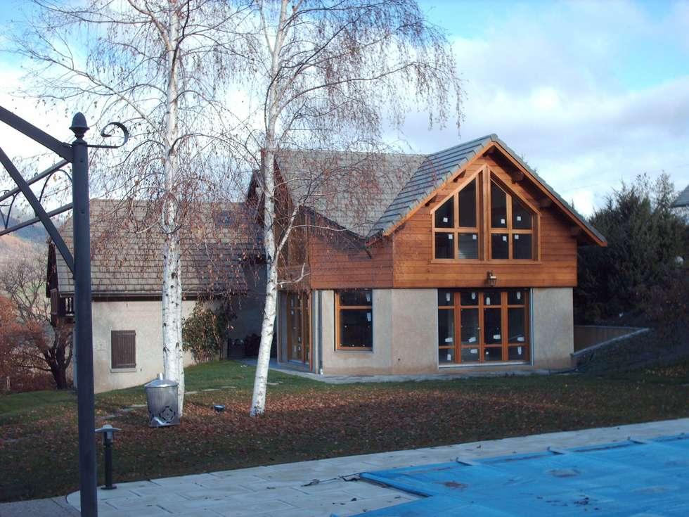 SCI Jaumare: Maisons de style de style eclectique par SAS d'architecture lionel Bouchié